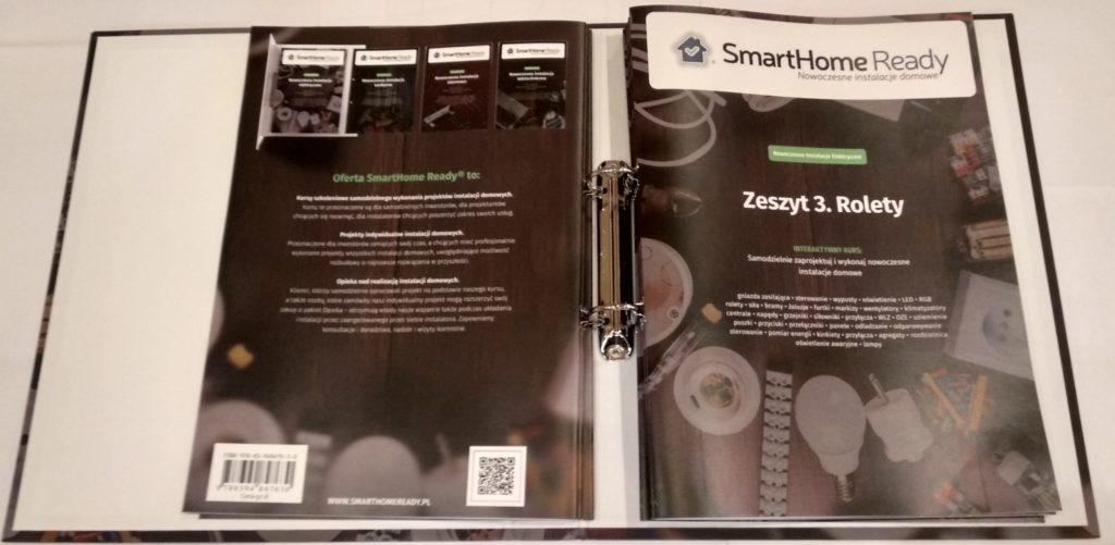 Zobacz Kurs SmartHome Ready - nowoczesne instalacje elektryczne - Kurs zeszyty 1024x501
